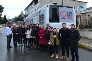 Kızılay'la İşbirliği İçerisinde Kan Bağışı Etkinliğimizi Gerçekleştirdik