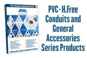 PVC & Halogen-Free Conduit and General Accessories Series