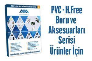 PVC & Halojen-Free Boru ve Genel Aksesuar Serisi