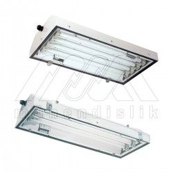 Ex-Proof Fluorescent Lighting Fixtures For Surface Mounting (EATON)