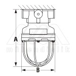Ex-Proof Lighting Fixtures Without Ballast (WAROM)