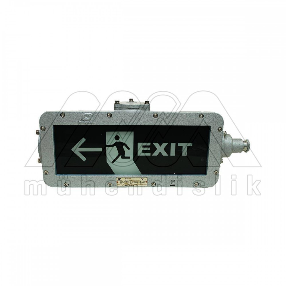 Ex proof emergency exit lighting fixture and signs warom arubaitofo Choice Image