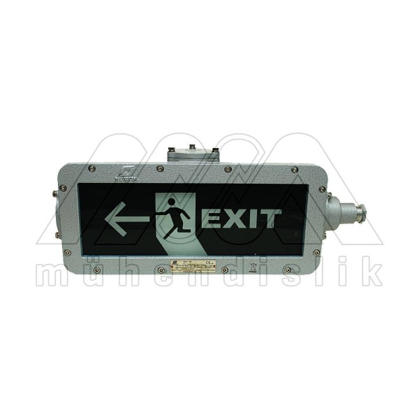Ex-Proof Emergency Exit Lighting Fixture and Signs (WAROM)