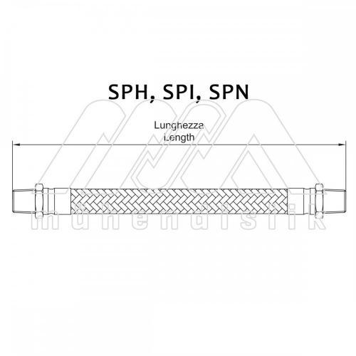 SPH-SPI-SPN TİP SPİRAL HORTUMLAR (CORTEM)