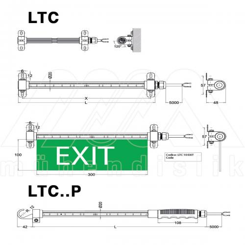 EX-PROOF PORTATİF LED LAMBA (COSIME)